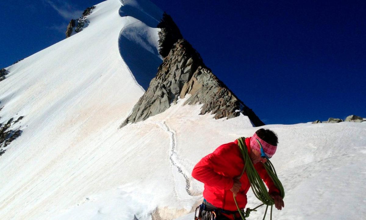Pontresina Biancograt Piz Bernina