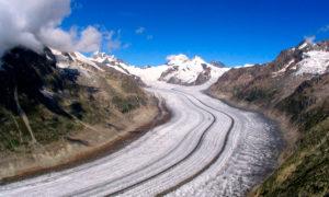 Gletschertrekking Grosser Aletschgletscher