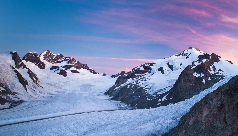 Gletschertrekking Aletschgletscher Jungfraujoch