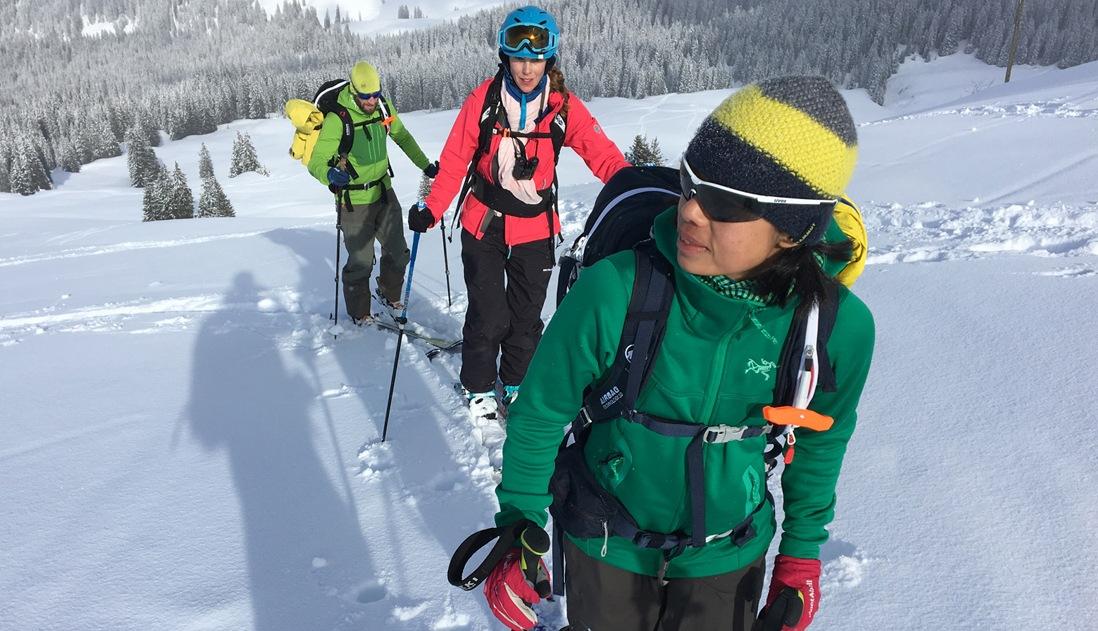 Skitourenkurs St.Antönien