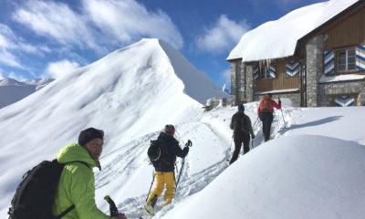 Skitouren Silvester, Skitouren Sylvester, Skitouren St.Antönien