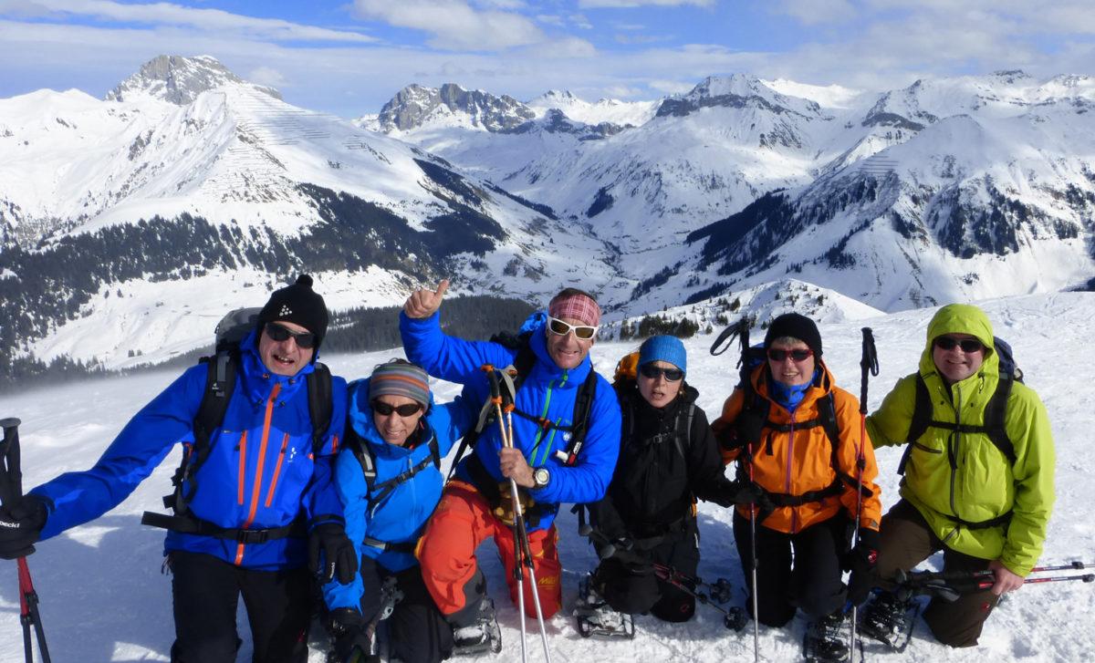 Schneeschuh Silvester, Schneeschuh Graubünden, Schneeschuh St.Antönien