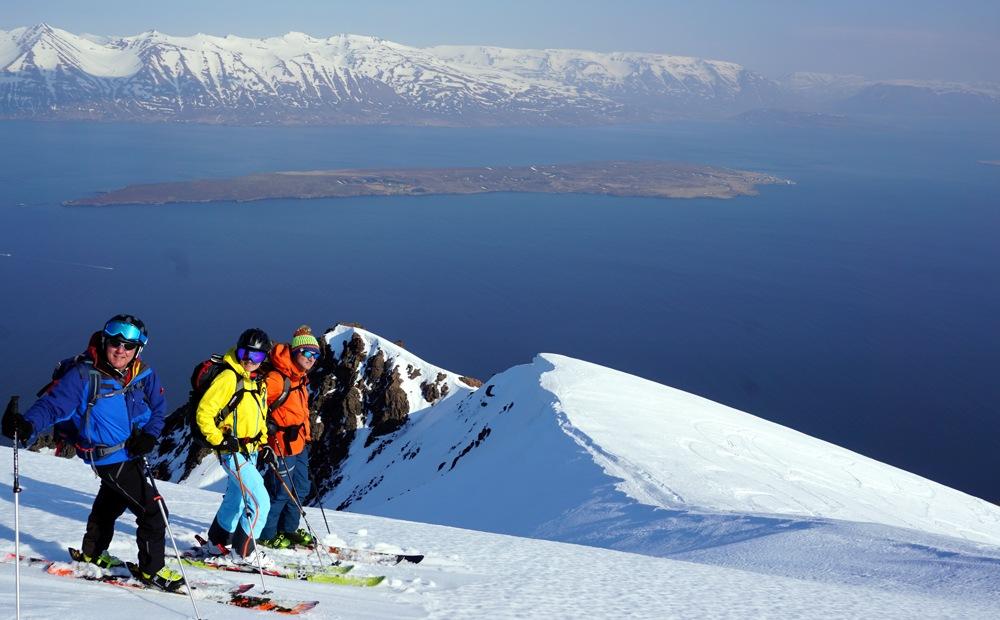 Skitouren_Iceland, Skitouren_Island