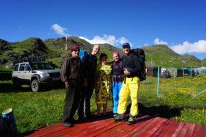 Elbrus Skitour, Russland