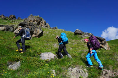 Elbrus Nordseite