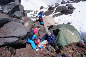 Skitour Elbrus, Kaukasus, Russia Russland