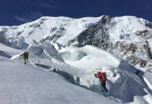 Skitour_Dufourspitze, Skitouren Monte Rosa