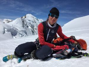 Skitour Dufourspitze Monte Rosa