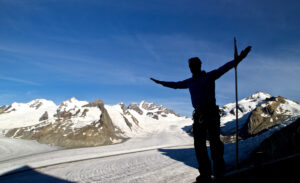 Aletschgletscher, Konkordiahütte