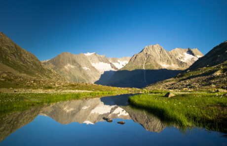 Konkordiahütte, Grosser Aletschgletscher, Berner Oberland