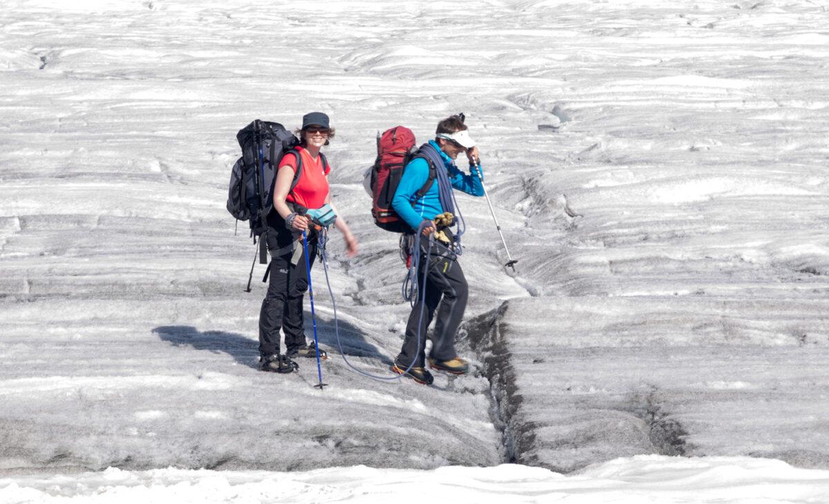 Gletschertrekking Wallis