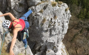 Kletterkurs mit Bergführer