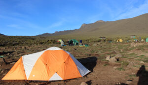 Tanzania, Serengeti, Mount Meru