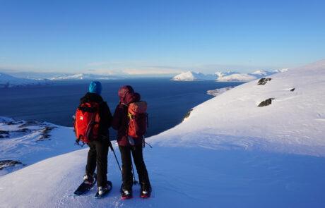 Schneeschuhreise Lyngen