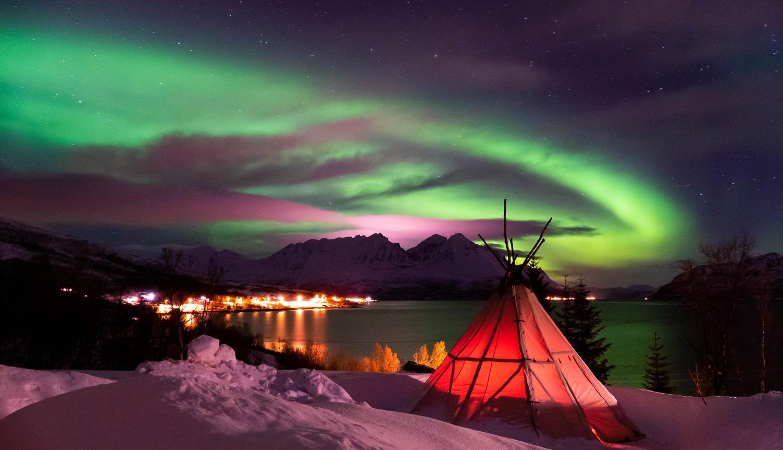 Polarlichtreise Lyngen