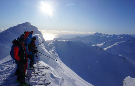 Skitouren Lofoten