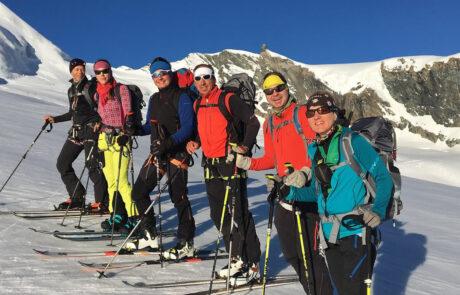 Skitouren_Saas Fee 4000er