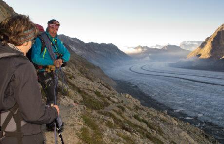 Gletschertrekking Aletsch