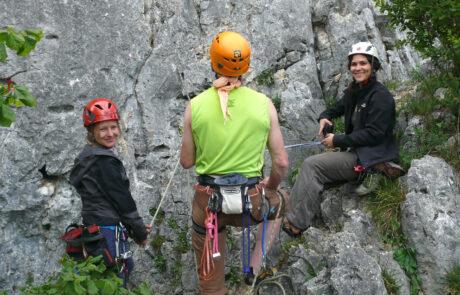 Kletterkurs Klettergarten